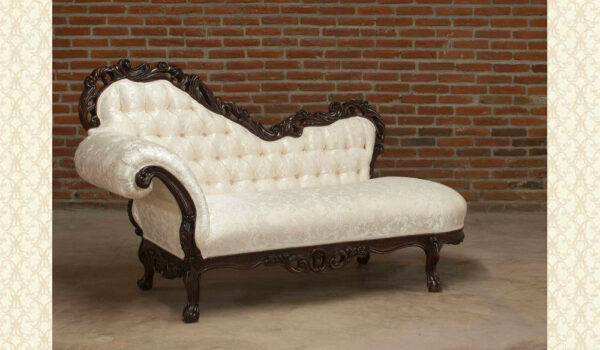 VICTORIAN CHAISE LOUNGE 652