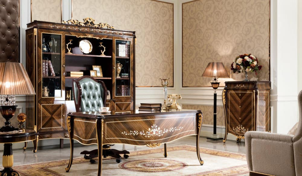 French Provincial BE-70 Desk