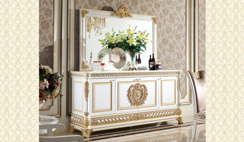 Classico Sol Collection Buffet & Mirror S62
