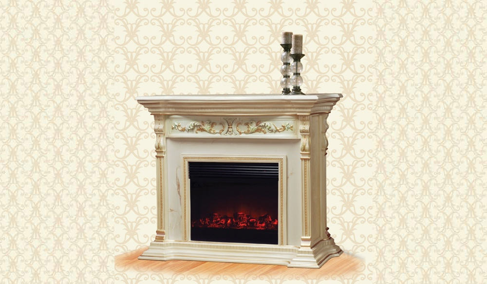 Victorian Fireplace 917-AM-Electric