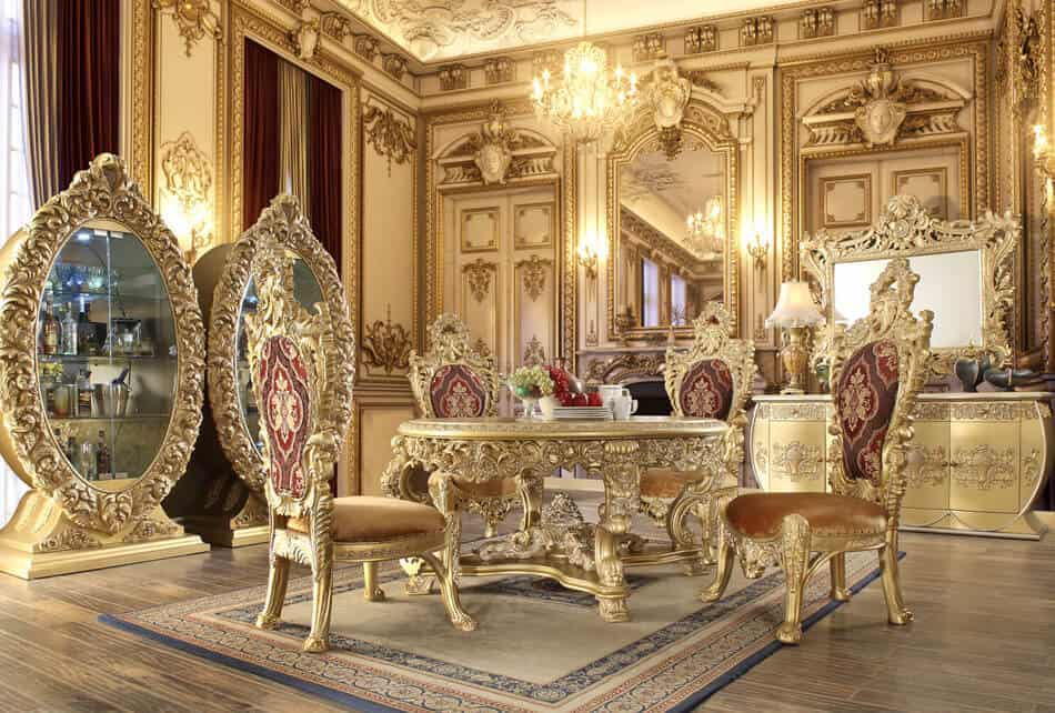 Victorian Round Dining Room 8086