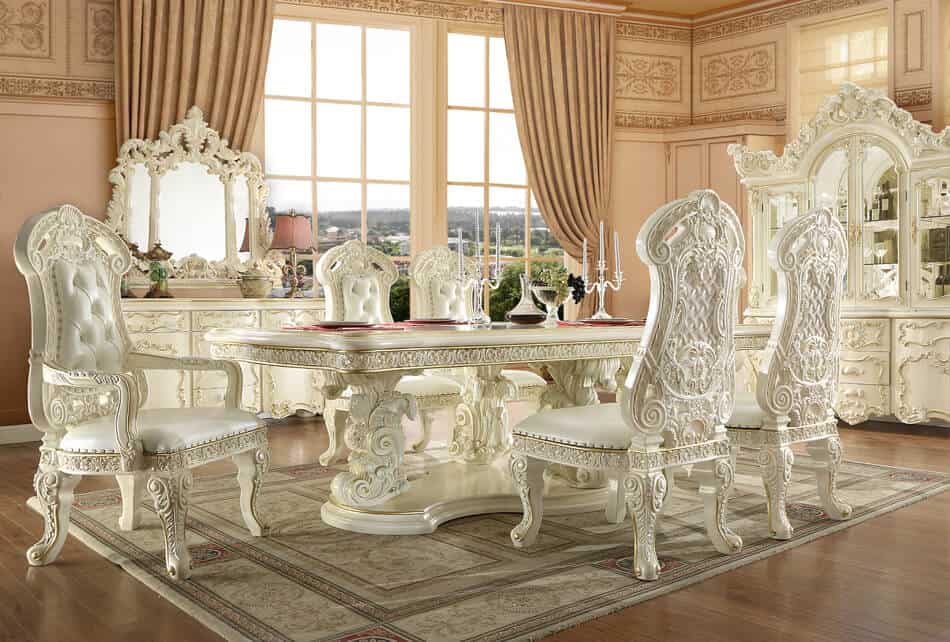 Victorian Long Dining Table 8089