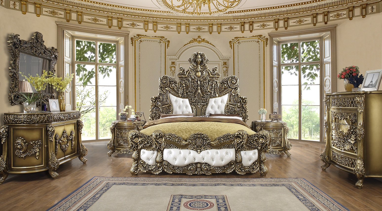 French Provincial K-1802 Bedroom