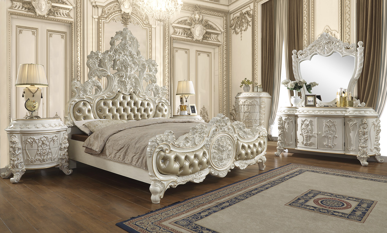 French Provincial Bedroom # 1806